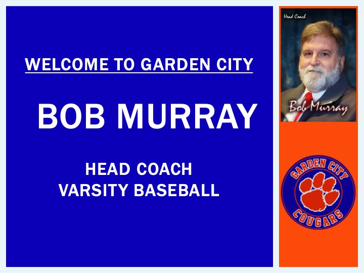 Bob Murray named Varsity Baseball Coach: