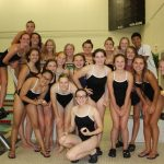 Girls Swim & Dive Plunges In