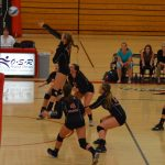 White Hawks Volleyball Loses Three Matches