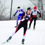 Abegglen Leads Skiers in Conference Races