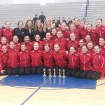 First Place Hawkettes Win Conference Jazz Meet