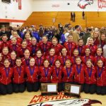 Hawkettes Sweep Sections, Advance to State!
