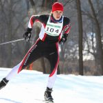 Nordic Ski Competes at Sections, Abegglen is State-Bound