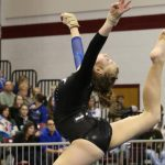 Gymnastics Team Takes Third in State Meet