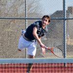 Boys Varsity Tennis Falls to Saints, JV Wins