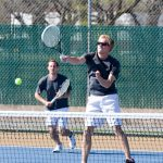 Mixed Bag for White Hawks Tennis