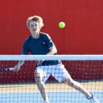 Boys Tennis Tops Tigers, Falls to Fire