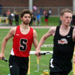 Track Athletes Earn Season's Best Times at Sections