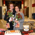 Girls Basketball Honors Pair of Seniors