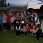 Boys Track Claims Conference Championship
