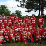 White Hawks Hold Youth Football K-8 Skills Camp