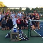 Girls Tennis Earns Wright County West Conference Championship