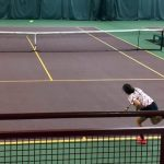 Welty Inspires at State Tennis Tourney