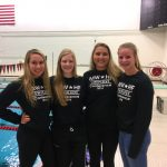 Four White Hawks Swimmers Earn All-Conference Awards
