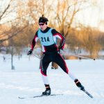 White Hawks Ski in First Meet of Season