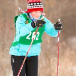Nordic Skiers Brave Cold at Hyland Lake Park