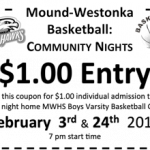 Boys Basketball to Host 'Community Nights'