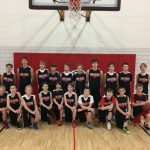 Seventh Grade Boys Basketball Demonstrates Teamwork