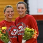 Girls Basketball Celebrates Pair of Seniors