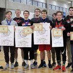 White Hawks Wrestlers Send Five to State