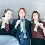 Three Earn Ribbons at Northfield Speech Tourney