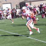 White Hawks Football Gets First Road Victory