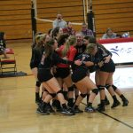 Volleyball Wins Two Playoff Games