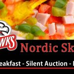 Nordic Ski Team omelet breakfast flyer