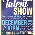 Don't Miss the MWHS Talent Show Dec. 20