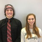 "Triple ""A"" Award winners Andrew Fish and Diana Hoernemann"