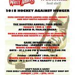 Hockey Against Hunger poster