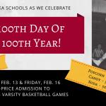 100th Day Celebration banner