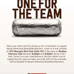 Dine at Chipotle Tonight to Support White Hawks Basketball