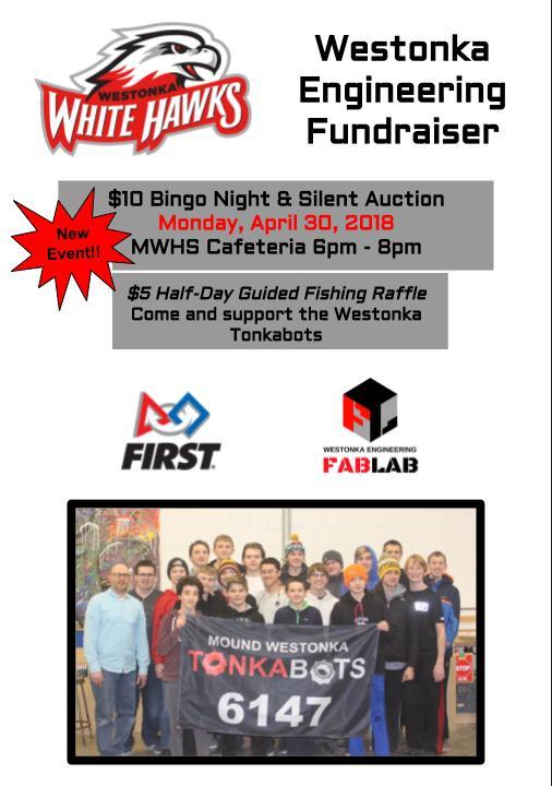 Westonka Engineering to Host Bingo Night April 30