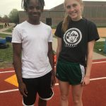 White Hawks Track Names Athletes of the Week