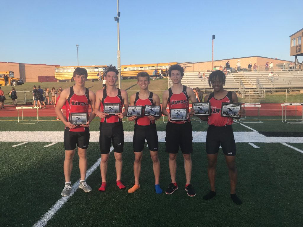 White Hawks All-Conference Award winners