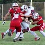 White Hawks Football Grinds Out Win in Home Opener