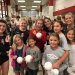 White Hawks Volleyball Hosts Youth Night