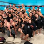 MWHF Girls Swimmers Touch for the Win