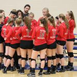 Loss to Rockford Ends White Hawks Volleyball Season