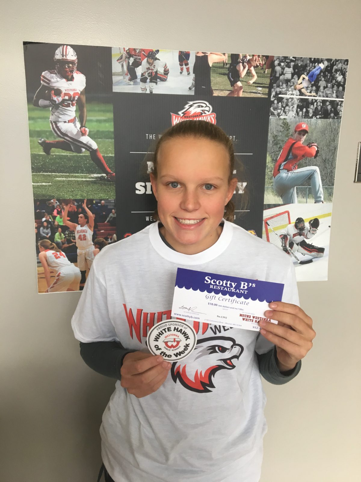 WESTONKA ATHLETIC/ACTIVITIES STUDENT OF THE WEEK