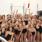 Girls Swim & Dive Team Celebrates Season
