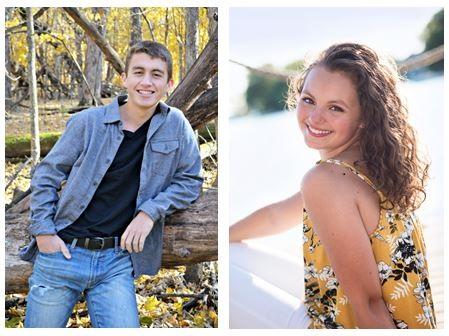 Aidan Maloney and Lauren Kelly