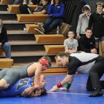 White Hawks Wrestlers Drop Conference Duals