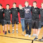 White Hawks Wrestlers Win on Senior Night