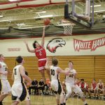 White Hawks Hoopsters on Five-Game Winning Streak