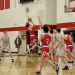White Hawks Boys Basketball Moves Into First Place in Conference