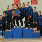 Gymnastics Team Advances to State, Section 5A Champs