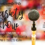 Don't Miss the Second Annual Variety Show, Sponsored by Student Senate