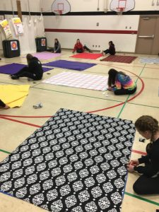 Girls Basketball Service Project – 1.21.19